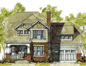 Craftsman House Plan 68339 Elevation