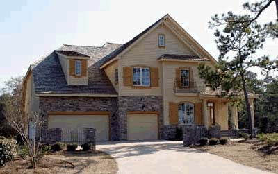 Country House Plan 68345 with 4 Beds, 4 Baths, 3 Car Garage Picture 1