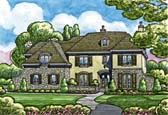 Plan Number 68361 - 7004 Square Feet