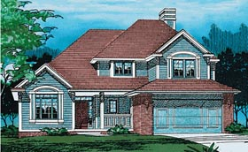 Traditional House Plan 68397 Elevation