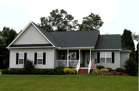 Traditional House Plan 68432 with 4 Beds, 2 Baths, 2 Car Garage Picture 1