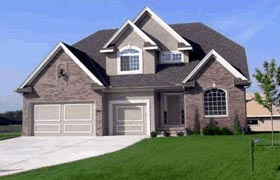 Traditional House Plan 68435 Elevation
