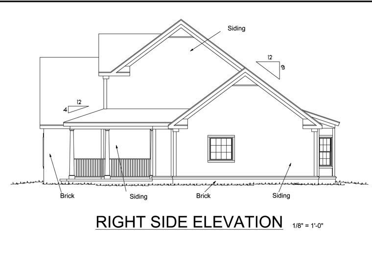 Country House Plan 68438