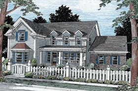 Country Southern House Plan 68446 Elevation