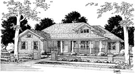 Country House Plan 68448 Elevation