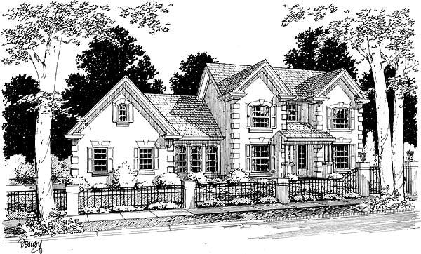 House Plan 68450
