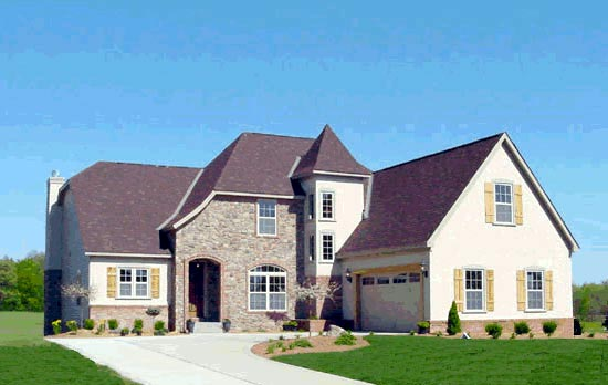 French Country House Plan 68454 Elevation