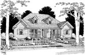 Plan Number 68461 - 1498 Square Feet