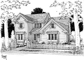 Traditional House Plan 68462 Elevation