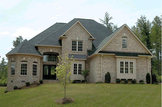 European , Traditional House Plan 68467 with 4 Beds, 5 Baths, 3 Car Garage Elevation