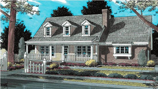 Country, Southern House Plan 68475 with 3 Beds, 3 Baths, 2 Car Garage Elevation