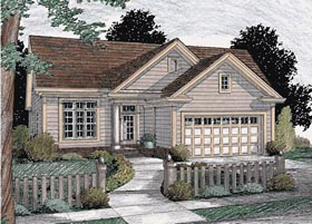 Traditional House Plan 68483 Elevation