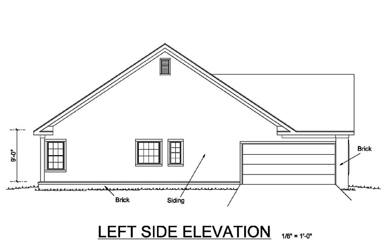 Country House Plan 68500 with 4 Beds, 2 Baths, 2 Car Garage Picture 1