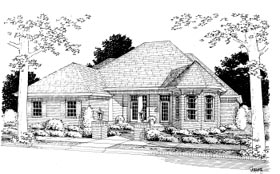 Plan Number 68501 - 2393 Square Feet