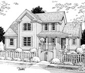 Plan Number 68509 - 1664 Square Feet