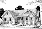 Plan Number 68514 - 1844 Square Feet