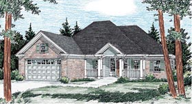 Traditional House Plan 68515 Elevation
