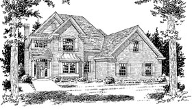 Traditional House Plan 68517 Elevation