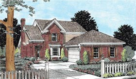 Traditional House Plan 68525 Elevation