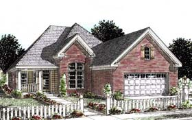Plan Number 68530 - 1692 Square Feet