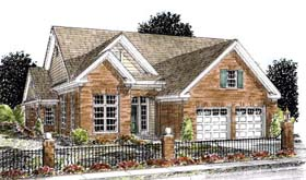 Traditional House Plan 68532 Elevation