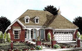 French Country Traditional House Plan 68533 Elevation