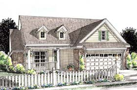 Cottage Country Traditional House Plan 68539 Elevation