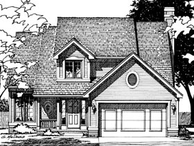 Country House Plan 68542 Elevation