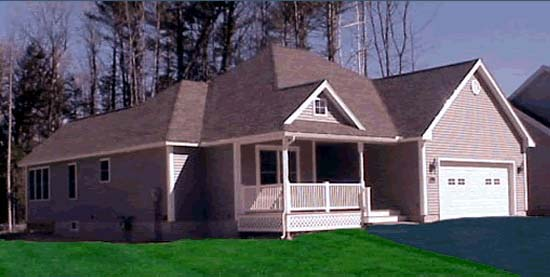Traditional House Plan 68543 with 2 Beds, 2 Baths, 2 Car Garage Picture 1