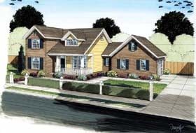 Traditional House Plan 68569 Elevation
