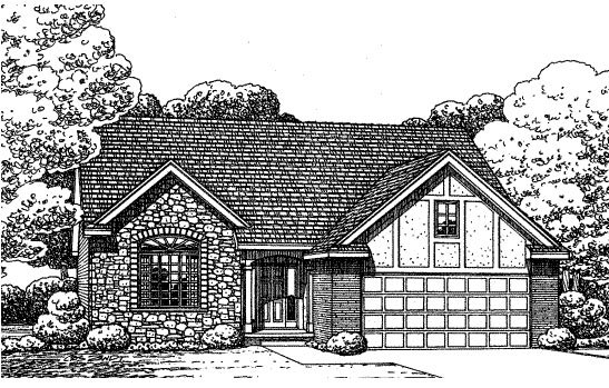 Traditional House Plan 68577 Elevation