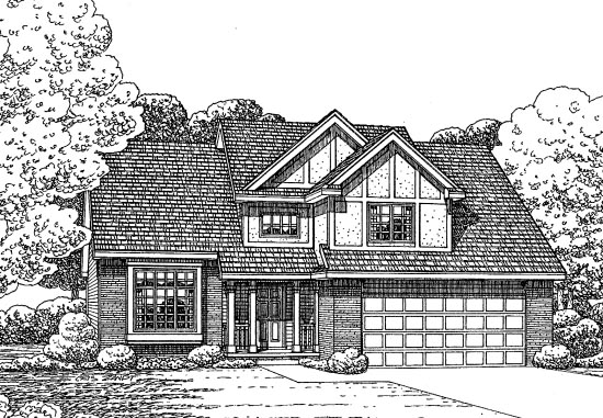 Traditional House Plan 68579 Elevation