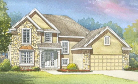Traditional House Plan 68580 Elevation