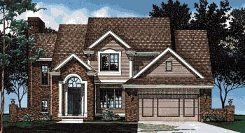 Country House Plan 68587 Elevation