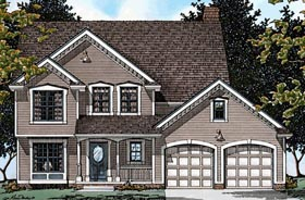 Country House Plan 68625 Elevation