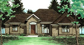 Traditional House Plan 68631 Elevation