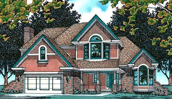 Country House Plan 68642 Elevation