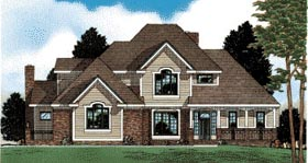 Plan Number 68656 - 2745 Square Feet