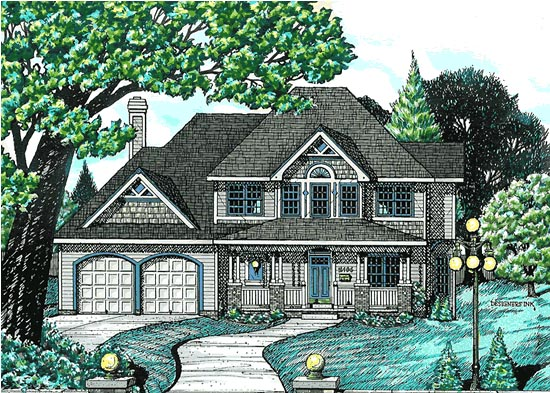 Country House Plan 68705 Elevation