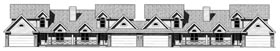 Ranch , Traditional Multi-Family Plan 68716 with 12 Beds, 12 Baths, 8 Car Garage Elevation