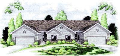Ranch Traditional House Plan 68723 Elevation