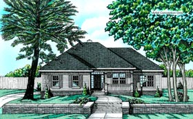 Traditional House Plan 68748 Elevation