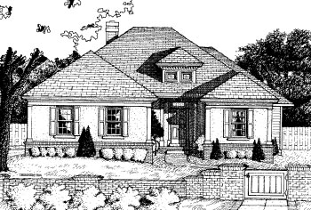 Traditional House Plan 68768 Elevation