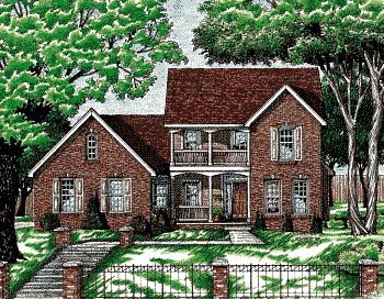 Country House Plan 68771 Elevation