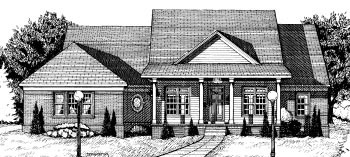 Country House Plan 68794 Elevation