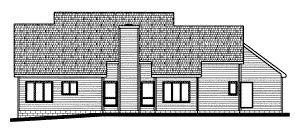 Country House Plan 68794 Rear Elevation