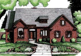 Traditional House Plan 68798 Elevation
