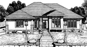 Traditional House Plan 68809 Elevation