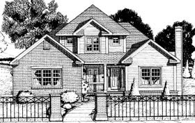 Country House Plan 68813 Elevation