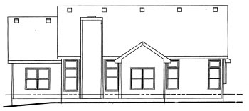 Country House Plan 68824 Rear Elevation